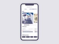 Travel Mobile Application Design