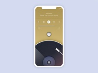 Retro Music Player Mobile Application Design