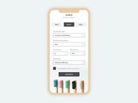 Toothbrush Sharing Mobile Application Design