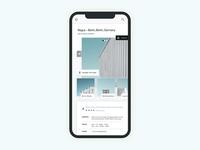 Office Rental Mobile Application Design
