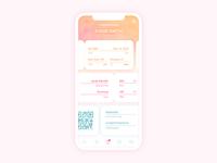 Flight Boarding Mobile Application Design