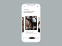 Goat Rental Mobile Application Design