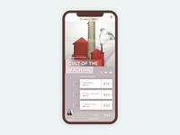 Museum Ticket Mobile Application Design