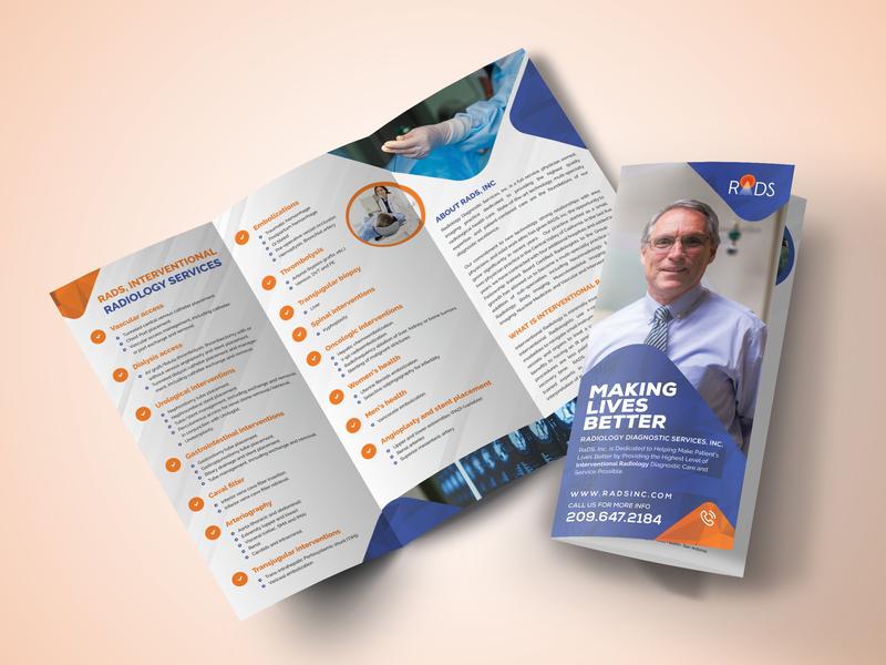 Medical Tri-fold Brochure Design by Dot Theme on Dribbble