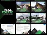 Real Estate Catalog Design