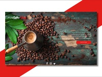 Coffee Shop - UI Web Design - 2019