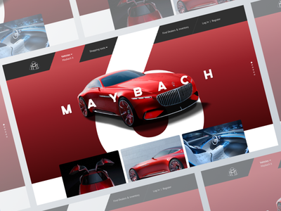 Website Landing car landing page ui design ui daily ui design clean challenge
