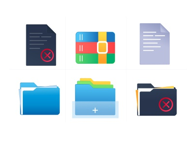 Duplicate files and Reduce storage clutter file manager ios logo indian illustrator document files duplicate zip compressor folder design folders icons