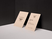 Business Card Caffeinated Library