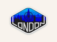 London Badge Design