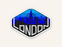 London Badge Design
