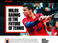 Milos Raonic Article