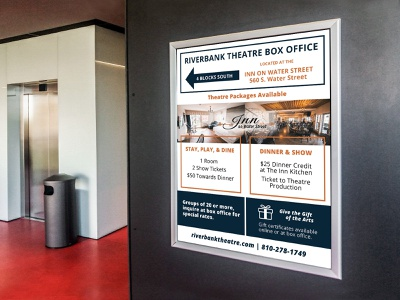Theatre Packages Poster marketing agency marketing campaign marketing poster design posters poster advert advertisement advertising advertise branding design design branding