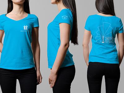 Nurse's Week T-Shirt Design florence nightengale t-shirts nurse nurses t-shirt mockup t-shirt design t-shirt design illustration adobe illustrator illustrator vector art graphic design vector