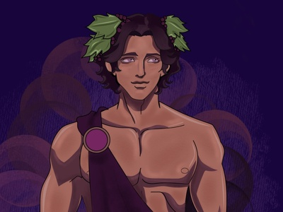 Blood of Zeus Character Illustrations procreate art procreate greek gods greek god greek anime blood of zeus character design illustration adobe illustrator illustrator vector art graphic design vector
