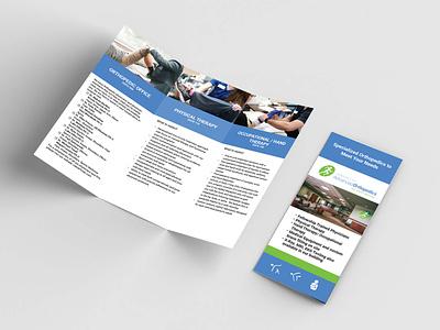 Orthopedic Office Brochure brand design print design print layout design layoutdesign brochure layout brochure brochure design branding design graphic design