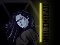 Sev'Rance Tann - Character Illustration