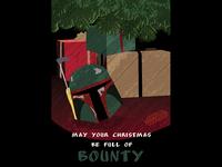 Star Wars Bounty Hunter Christmas Card