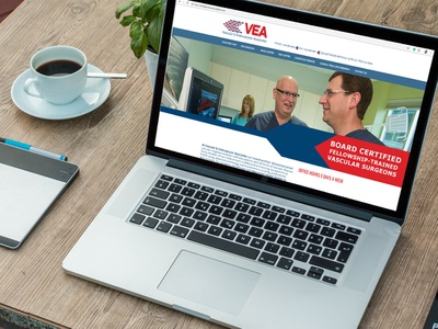 VEA Website mobile friendly wordpress development wordpres ux design ux  ui website design website web