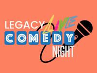 Legacy Live Comedy Night Logo