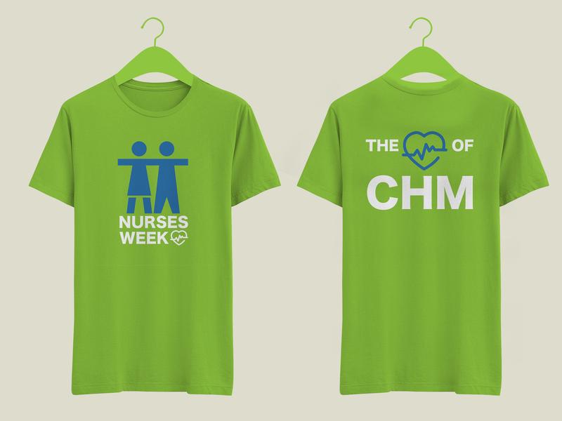 Nurses Week T-Shirt Mockup hospital nurse t shirt art t shirt design t shirt illustration adobe illustrator illustrator graphic design vector art vector