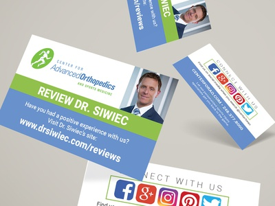 Orthopedic Review Cards