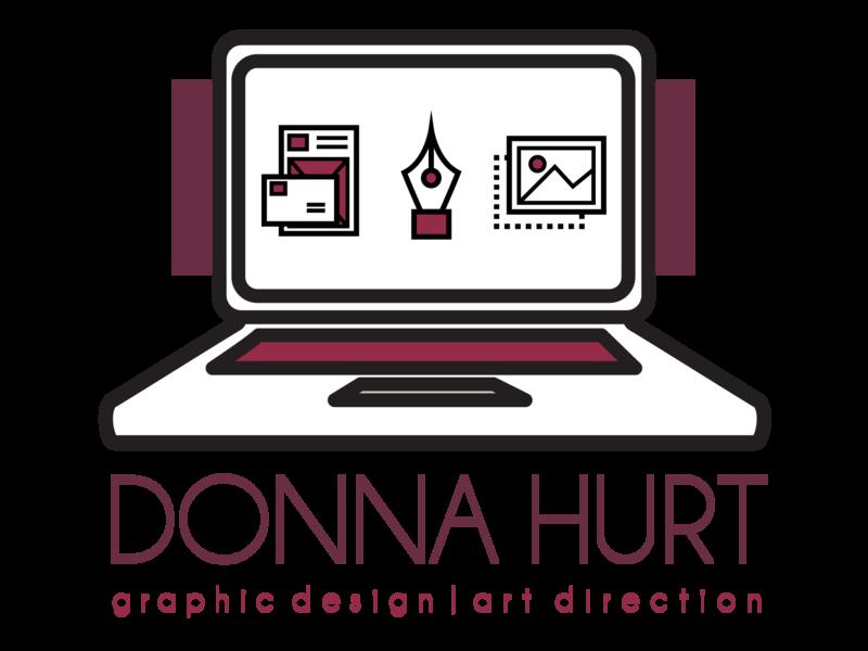 Donna Hurt Designs personal brand stickermule sticker branding illustration adobe illustrator illustrator vector art graphic design vector