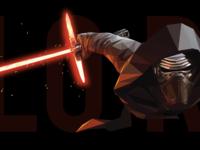 Kylo Ren Low Poly Design - The Force Awakens