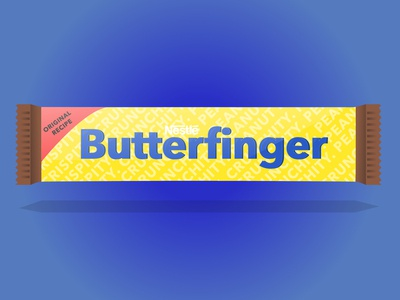 Butterfinger Redesign (Dribbble Rebound)