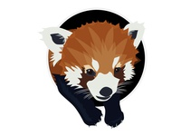Red Panda Icon (Dribbble Rebound)