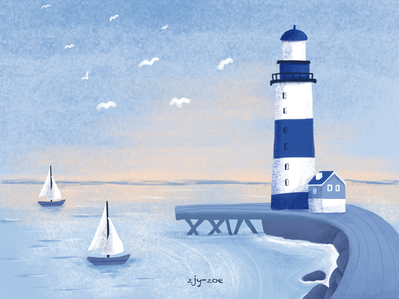 Lighthouse By Jiayin Zeng On Dribbble Images, Photos, Reviews