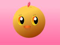 Little cute chicken