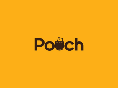 Pouch logo design idea