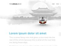Lingual Blog