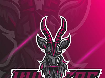 illustration Deer Mascot Esport design logo esport illustration