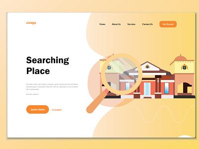 PKM Majasari Pandeglang-Banten Web web flat app branding illustration