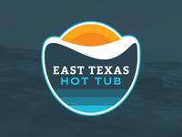 East Texas Hot Tub Logo Concept