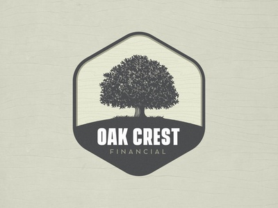 Oak Crest Financial Logo Concept