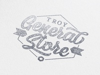 Troy General Store Logo Concept