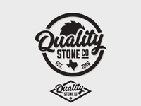 Quality Stone Co. Logo Concept 2