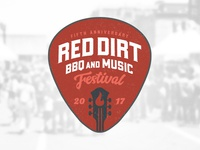 Red Dirt BBQ & Music Festival Logo Concept