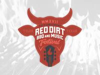 Red Dirt BBQ & Music Festival Logo Concept V2
