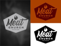Meat Church Logo Concept