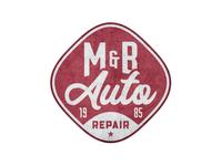 M&B Auto Repair Logo Concept