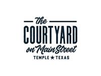 Main Street Courtyard Logo Concept (Round II)
