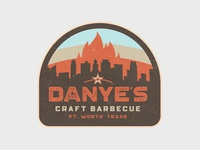 Danye's Craft Barbecue Logo Concept