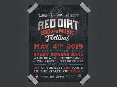 2019 Red Dirt Poster