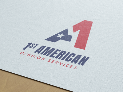 1st American Pension Services Logo Concept