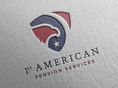 1st American Pension Services Logo Concept - Mark II