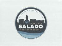 Salado Christmas Stroll Logo Concept